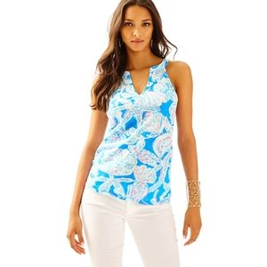 Lilly Pulitzer Arya Printed Tank Top